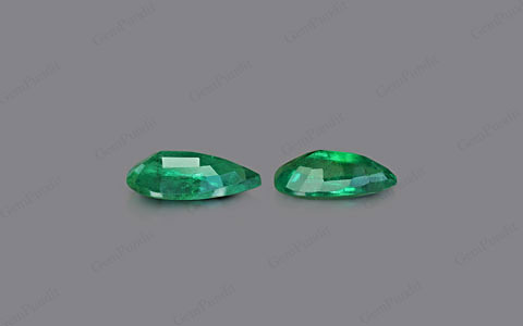 Emerald Pair - 7.33 carats