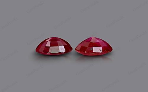 Ruby Pair - 4.27 carats