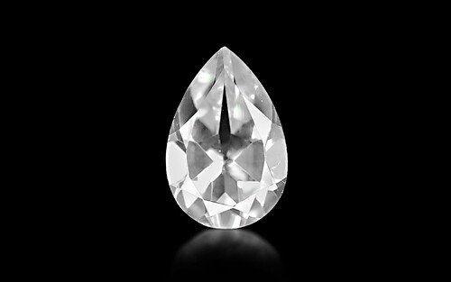 White Topaz - 3.72 carats