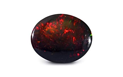 Black Opal - 3.69 carats