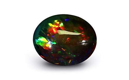 Black Opal - 3.77 carats