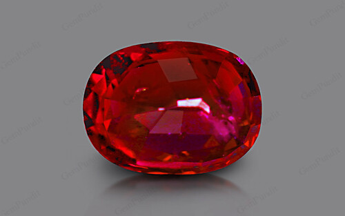 Pigeon Blood Ruby - 5.02 carats