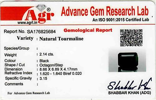 Black Tourmaline - 2.14 carats