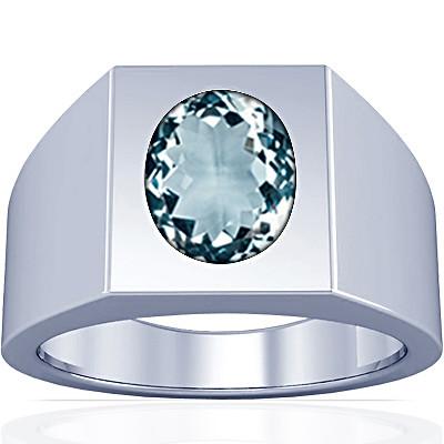 Aquamarine Silver Ring (A13)