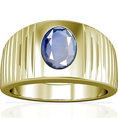 Blue Sapphire Panchdhatu Ring (A5)