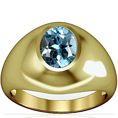 Blue Topaz Panchdhatu Ring (A3)