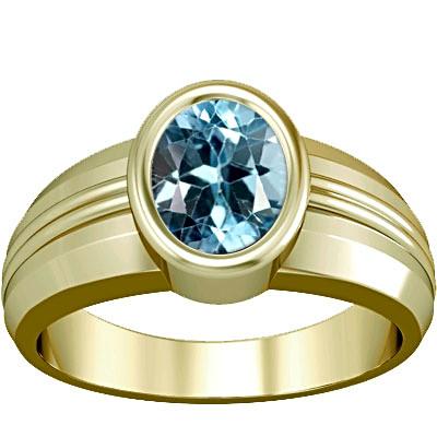 Blue Topaz Panchdhatu Ring (A4)
