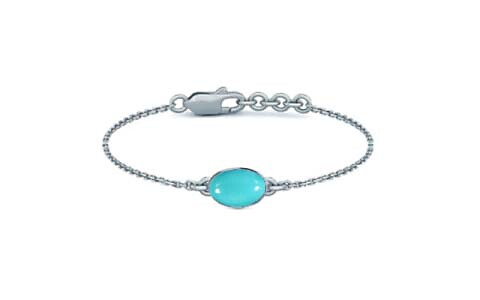 Turquoise Sterling Silver Bracelet (B2) for Women