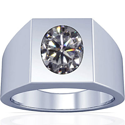 Cubic Zirconia Silver Ring (A13)