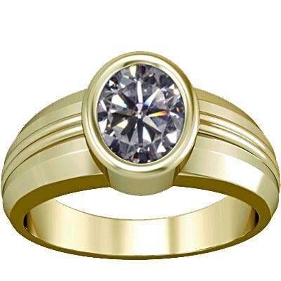 Cubic Zirconia Panchdhatu Ring (A4)