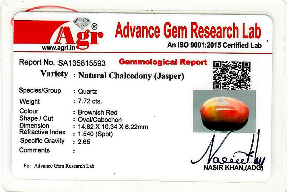 Red Jasper - 7.72 carats