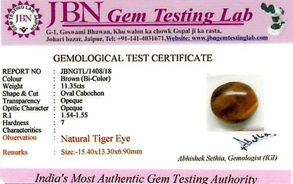 Tiger Eye - 11.35 carats