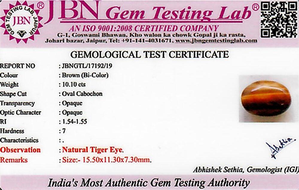 Tiger Eye - 10.10 carats