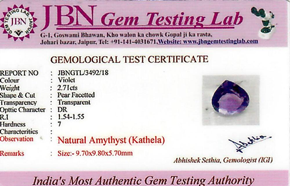 Amethyst - 2.71 carats