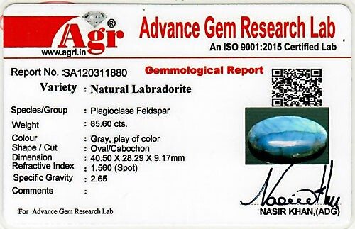 Spectrolite (Labradorite) - 85.60 carats