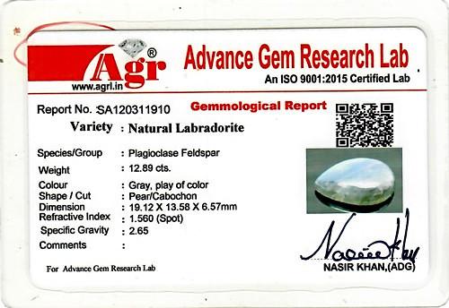 Spectrolite (Labradorite) - 12.89 carats