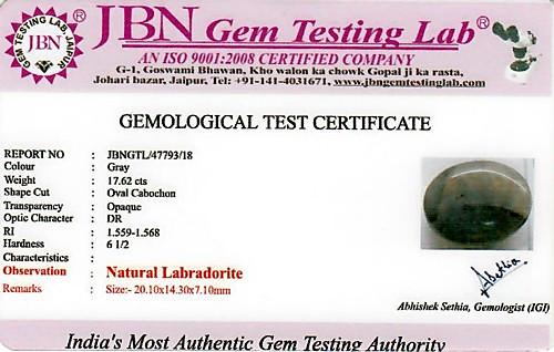 Labradorite - 17.62 carats