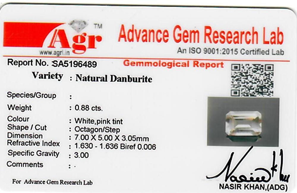 Danburite - 0.88 carats