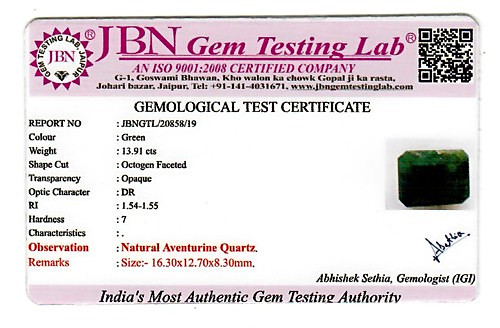 Green Aventurine - 13.91 carats