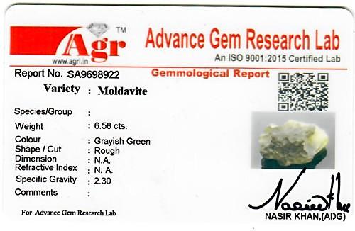 Moldavite - 1.32 grams
