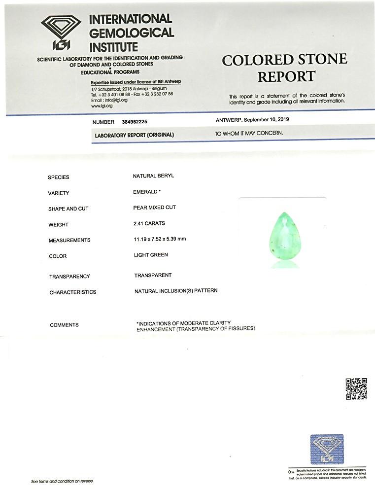 Emerald - 2.41 carats
