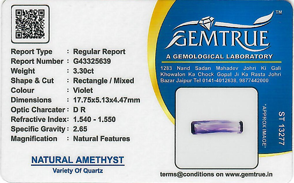 Amethyst - 3.30 carats