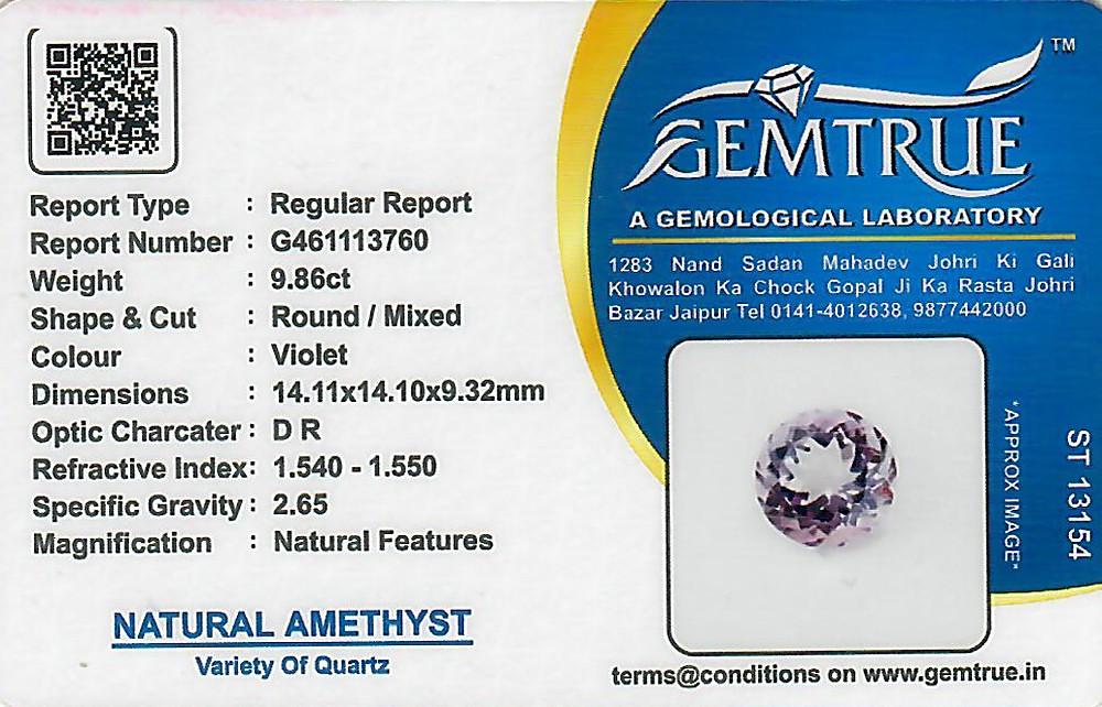 Amethyst - 9.86 carats