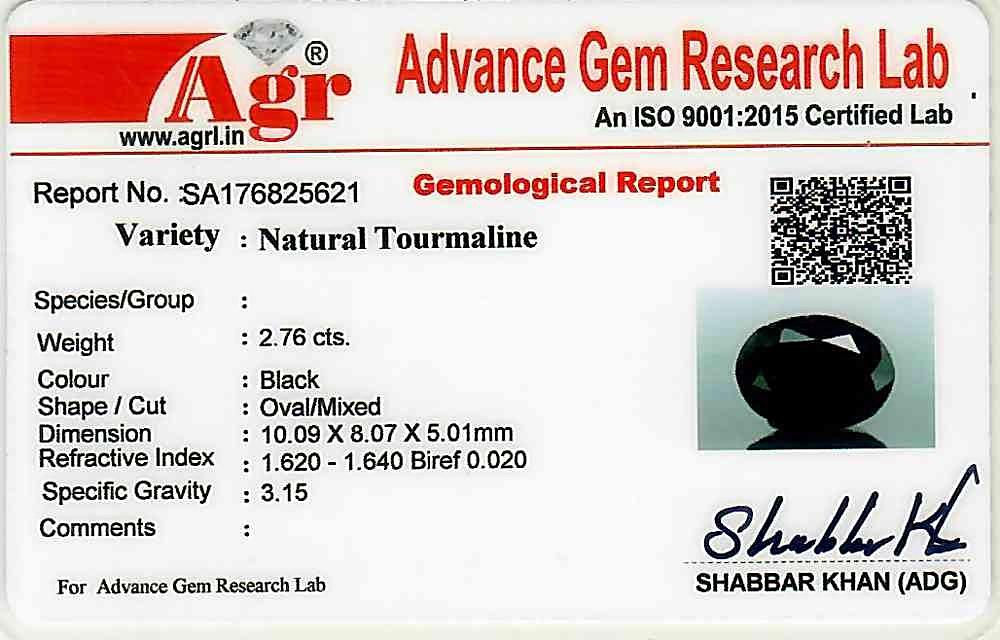 Black Tourmaline - 2.76 carats