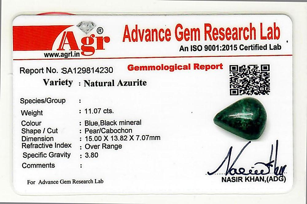 Azurite - 11.07 carats