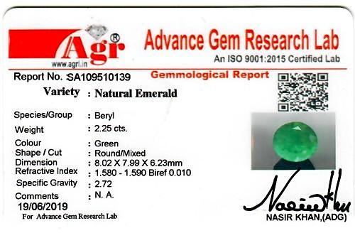 Emerald - 2.25 carats
