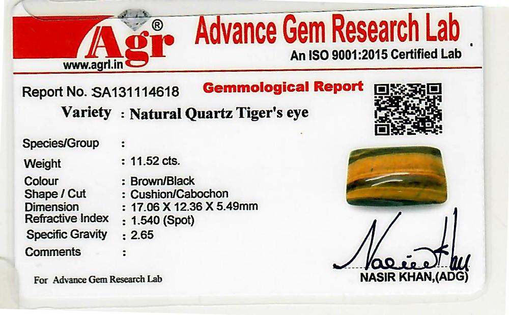 Tiger Eye - 11.52 carats