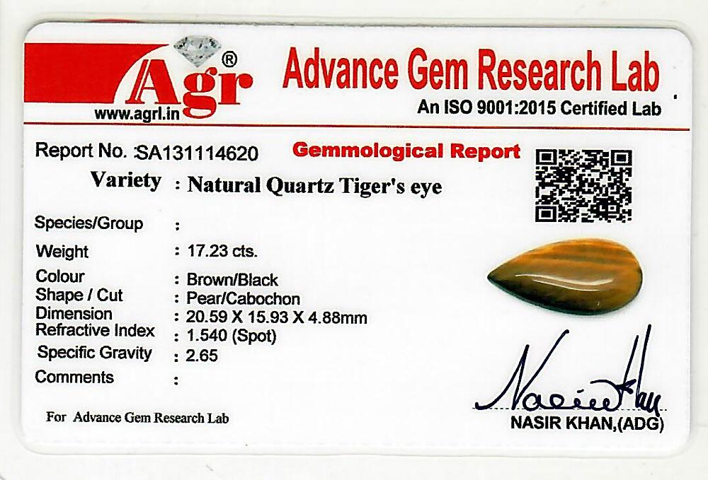 Tiger Eye - 17.23 carats