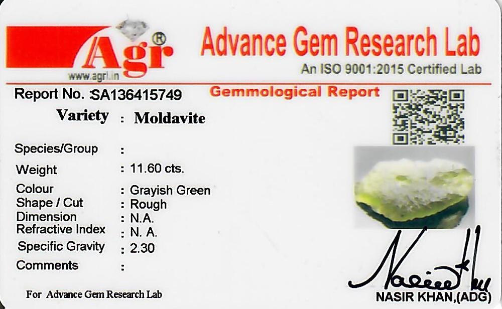 Moldavite - 2.32 grams