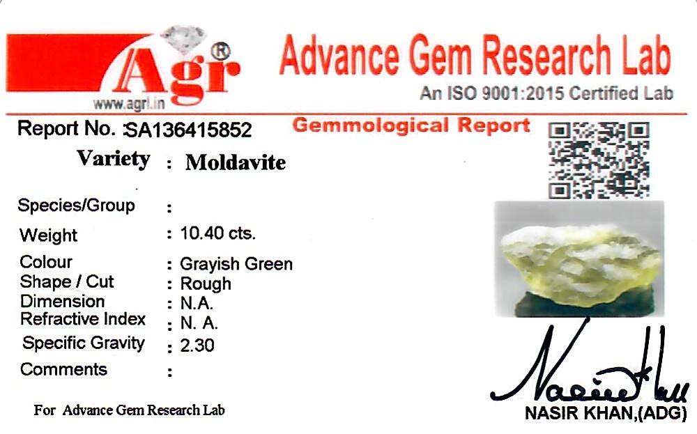 Moldavite - 2.08 grams