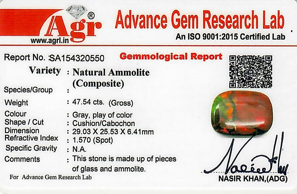 Ammolite - 47.54 carats