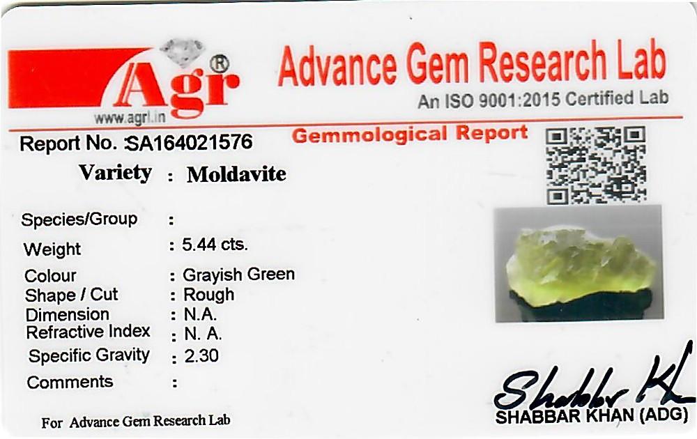 Moldavite - 1.09 grams