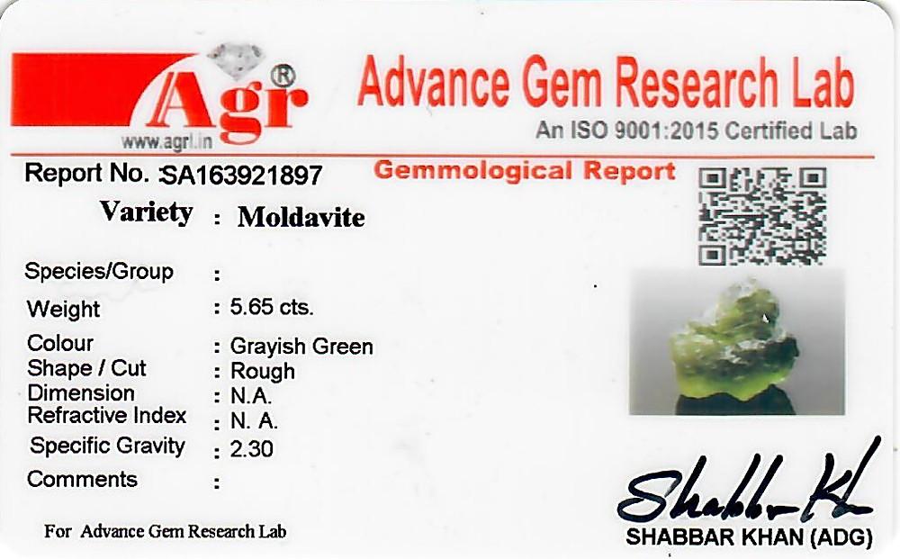Moldavite - 1.13 grams