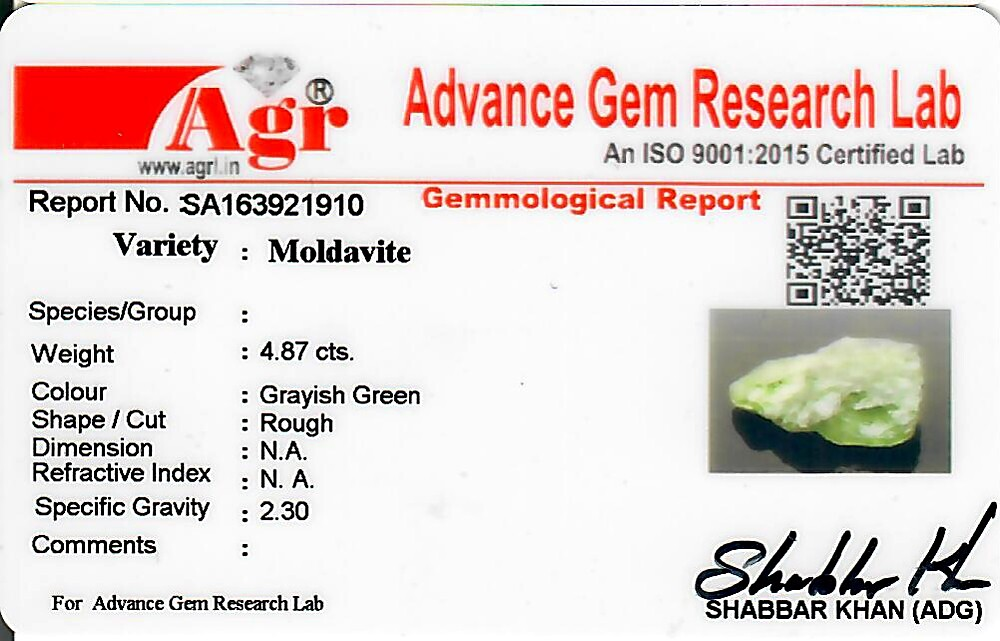 Moldavite - 0.97 grams