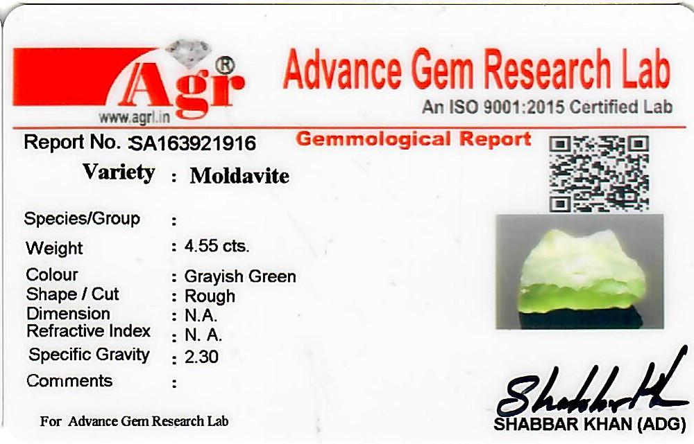 Moldavite - 0.91 grams