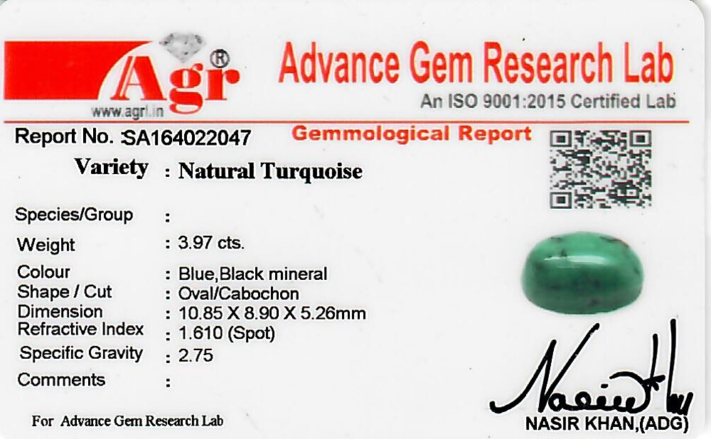 Turquoise - 3.97 carats