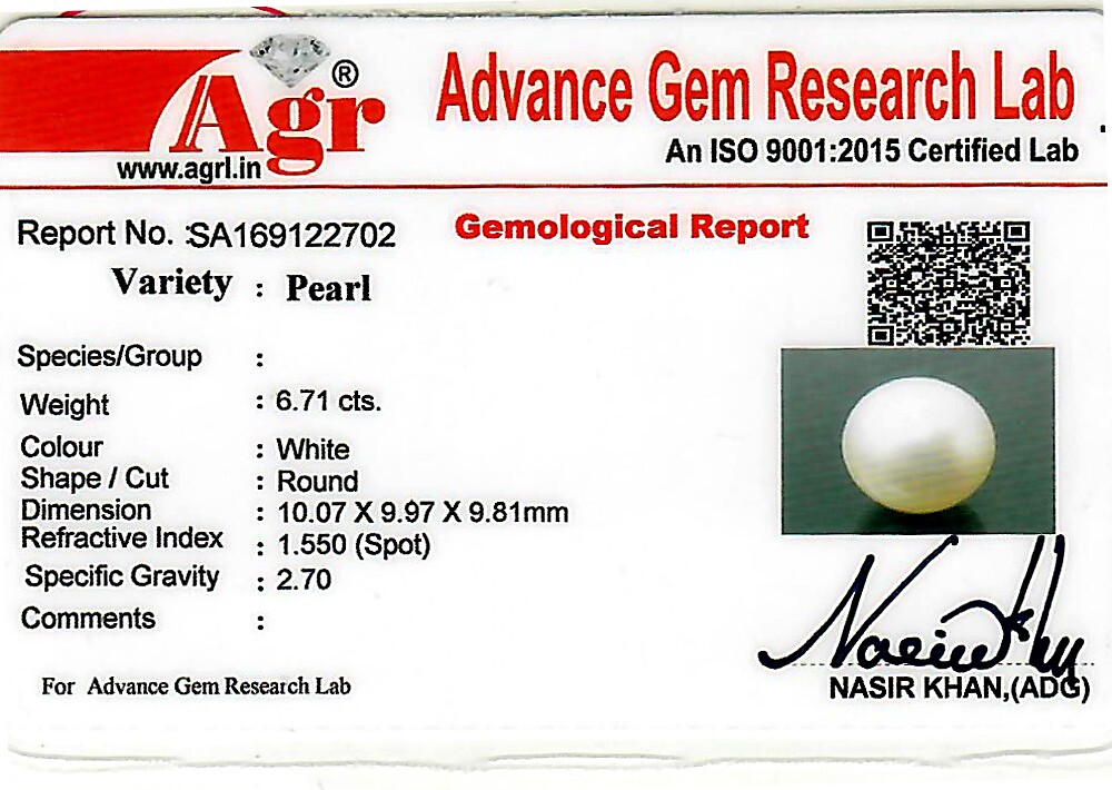 South Sea Pearl - 6.71 carats