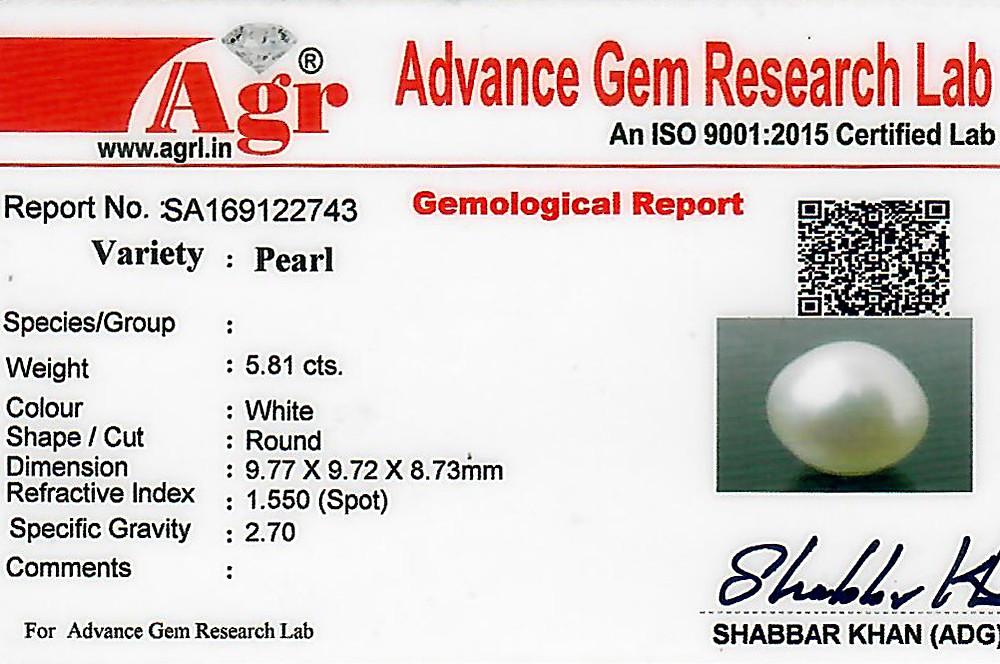 South Sea Pearl - 5.81 carats