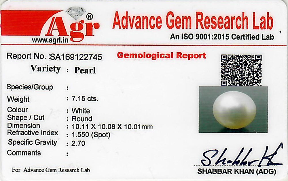 South Sea Pearl - 7.15 carats
