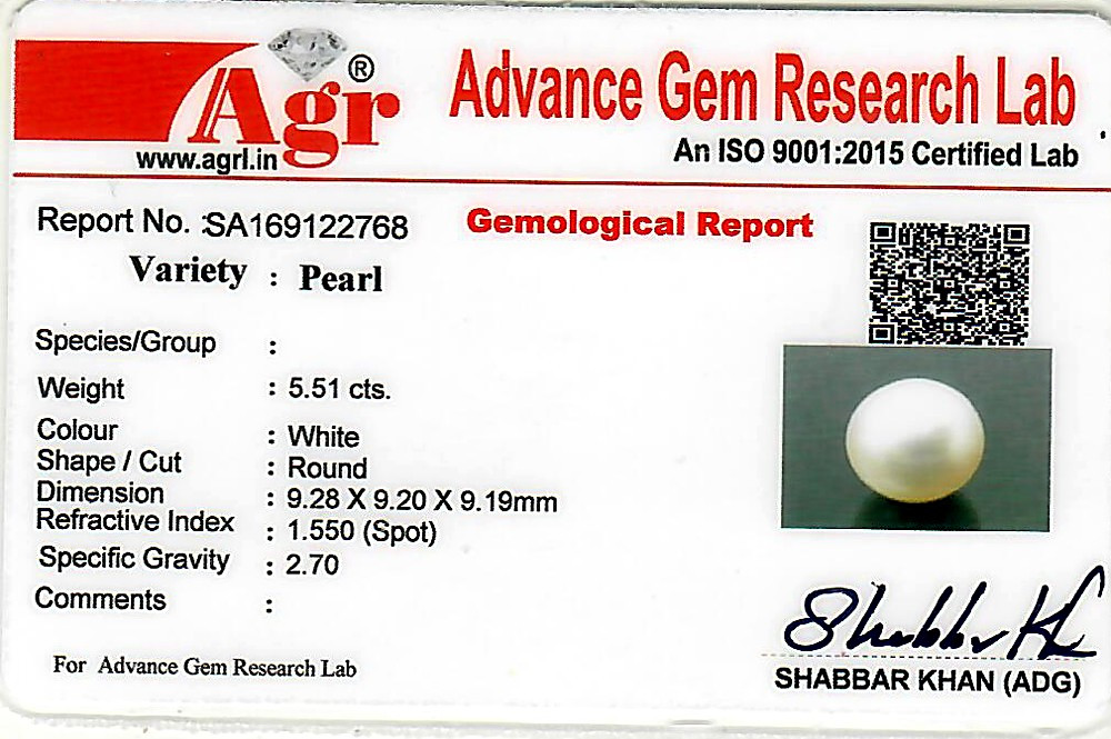 South Sea Pearl - 5.51 carats
