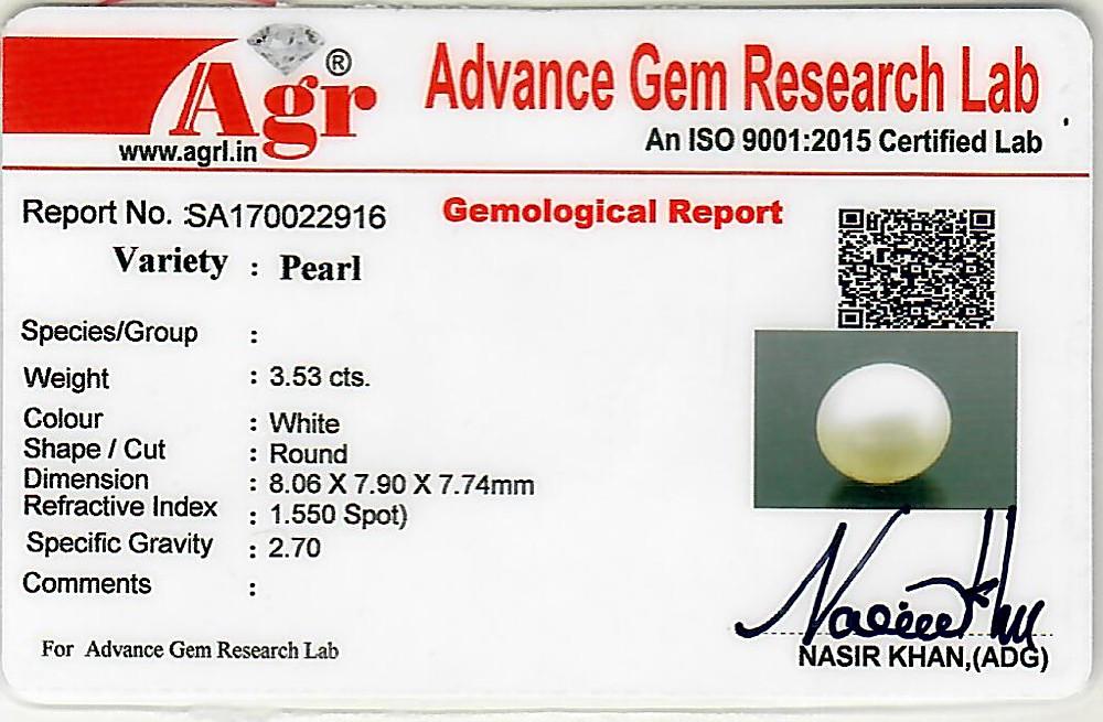 South Sea Pearl - 3.53 carats