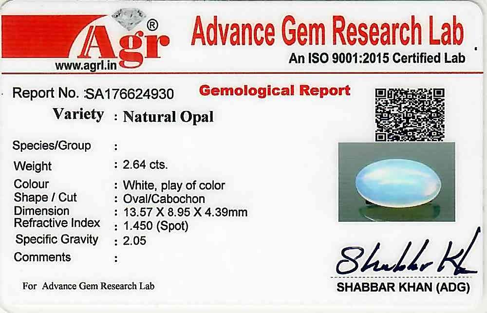 Opal - 2.64 carats
