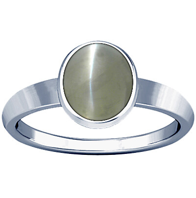 Chrysoberyl Cats Eye Sterling Silver Ring (R1)