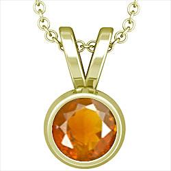 Fire Opal Panchdhatu Pendant (Design D1)