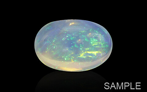 Opal with Fire (Transparent) - Ethiopian