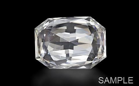 White Sapphire (Ceylonese) - Super Luxury